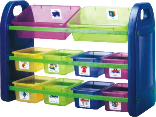 storage organizers and creche toys