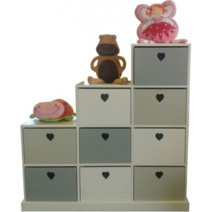 wooden pigeon hole storage units