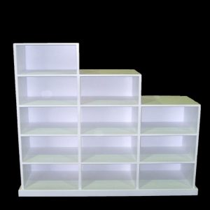 pigeon hole shelving unit